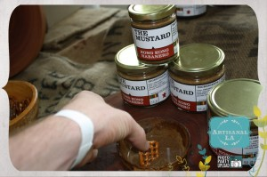 So No Trading Company Mustard: Artisinal LA (via LAPhotoParty.com)