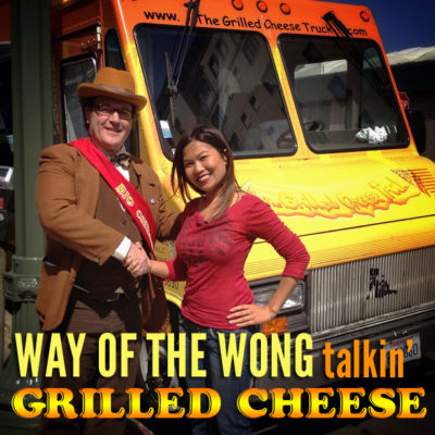 Jenn Wong meets the Mayor of Cheese