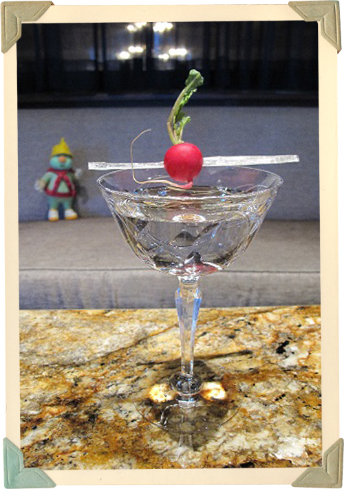 """Enjoy the Architecture"" cocktail for the 30th Anniversary of Jim Henson's Fraggle Rock"