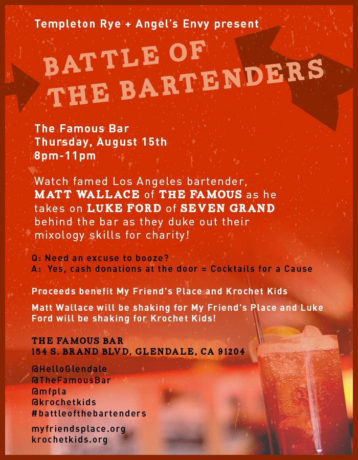 Battle of the Bartenders - Matt Walace & Luke Ford