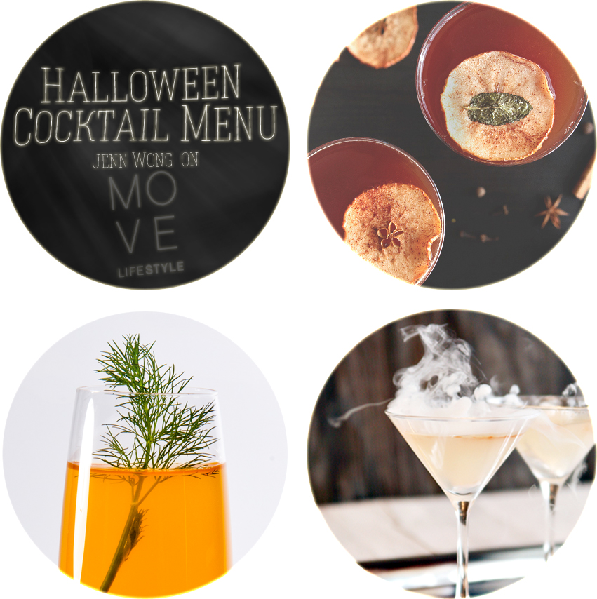 Halloween Cocktail Menu on Way of the Wong