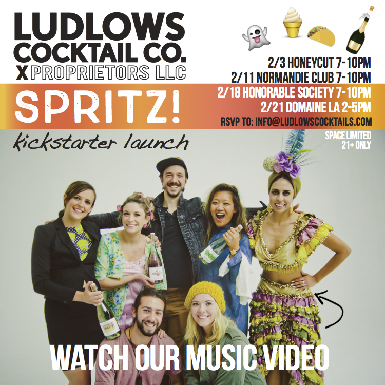 Ludlows Kickstarter Spritz